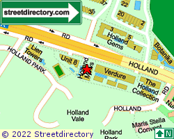 HOLLAND MEWS | Location & Map