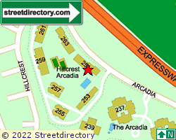 HILLCREST ARCADIA | Location & Map
