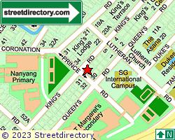 MONICA GARDEN | Location & Map