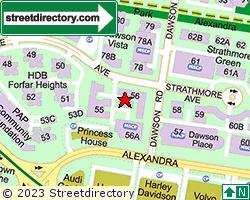 Blk 56, Strathmore Avenue | Location & Map