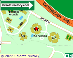 THE ARCADIA | Location & Map