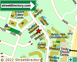 THE SHELFORD RESIDENCES | Location & Map