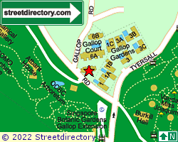 GALLOP COURT | Location & Map