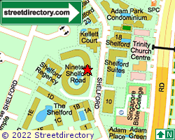 NINETEEN SHELFORD ROAD | Location & Map