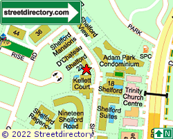 SHELFORD 23 | Location & Map