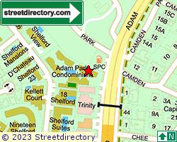 ADAM PARK CONDOMINIUM | Location & Map