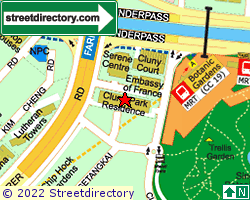 CLUNY PARK RESIDENCE | Location & Map