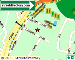 CAMDEN PARK | Location & Map