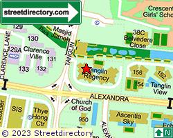 TANGLIN REGENCY | Location & Map