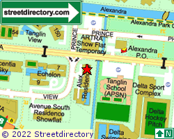 ALEX RESIDENCES | Location & Map