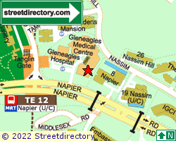 GLENEAGLES MEDICAL CENTRE | Location & Map