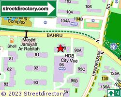 BLK 96B, Henderson Road   Location & Map