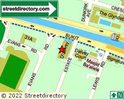 D' DALVEY | Location & Map
