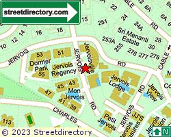 JERVOIS VILLE | Location & Map