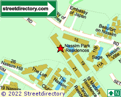 NASSIM PARK RESIDENCES | Location & Map