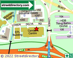 CENDEX CENTRE | Location & Map