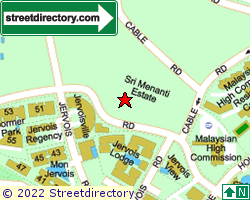 SRI MENANTI ESTATE | Location & Map