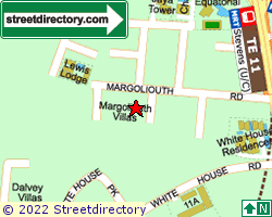 MARGOLIOUTH VILLAS | Location & Map
