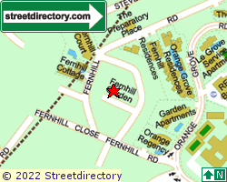 FERNHILL GARDEN | Location & Map
