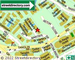 ST MARTIN'S RESIDENCES | Location & Map