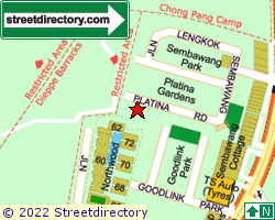 PLATINA GARDENS | Location & Map