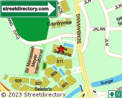 THE SENSORIA | Location & Map