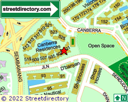CANBERRA RESIDENCES | Location & Map