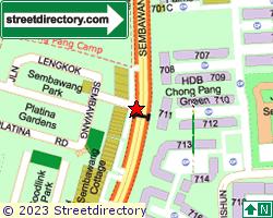SEMBAWANG PARK | Location & Map