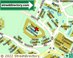 TREETOPS EXECUTIVE RESIDENCES | Location & Map