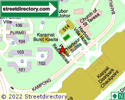 PERMAI RESIDENCES | Location & Map