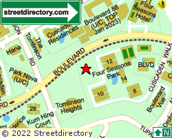 BOULEVARD 88 | Location & Map