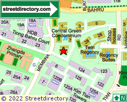 CENTRAL GREEN CONDOMINIUM | Location & Map
