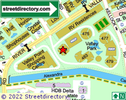 VALLEY PARK | Location & Map