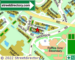 ANDERSON GREEN | Location & Map