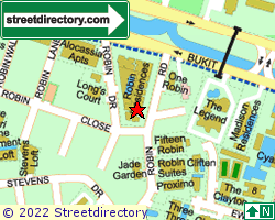 ROBIN STAR | Location & Map