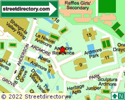 ARDMORE RESIDENCE | Location & Map