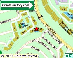 THREE 11 | Location & Map