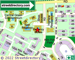 REGENCY SUITES | Location & Map