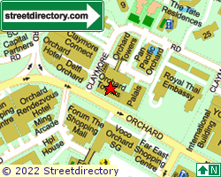 ORCHARD TOWERS | Location & Map