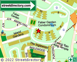 FABER GARDEN CONDOMINIUM | Location & Map
