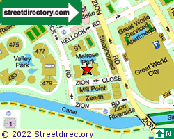 MELROSE PARK | Location & Map
