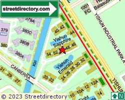 YISHUN SAPPHIRE | Location & Map