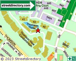 THOMSON THREE | Location & Map