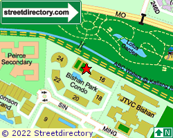 BISHAN PARK CONDOMINIUM | Location & Map