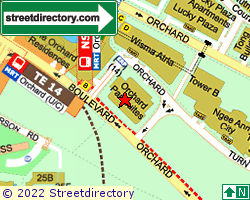 ORCHARD PARKSUITES | Location & Map