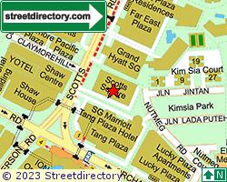 SCOTTS SQUARE | Location & Map