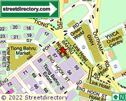TIONG BAHRU ESTATE | Location & Map
