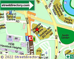 CONCORDE SHOPPING CENTRE | Location & Map