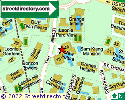 NEW FUTURA | Location & Map