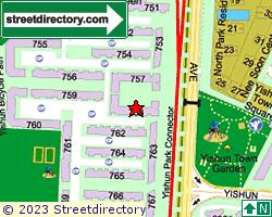 Blk 758, Yishun Street 72 | Location & Map
